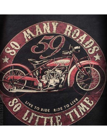 "T shirt ""so many roads"""
