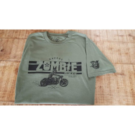 T-shirt Zombie Bikes Garage