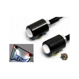 Éclairage plaque mini Feu intégré - paire