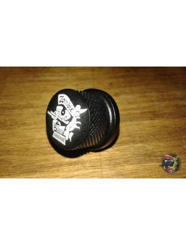 Vis de support selle noire Zombie Bikes Concept - Harley 1996 à aujourd'hui