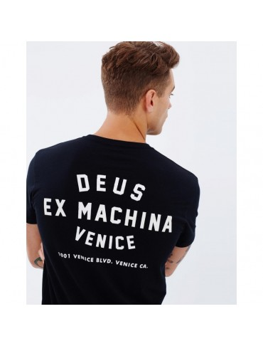 Venice Address Tee Black