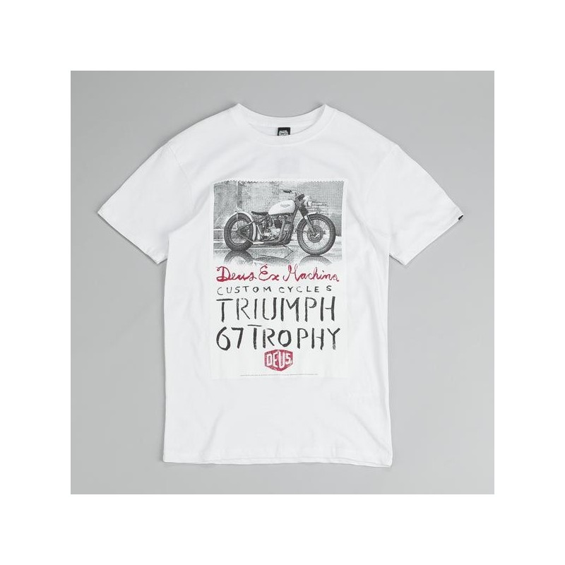 Triumph Trophy White