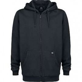 Sweat Capuche Noir Dickies