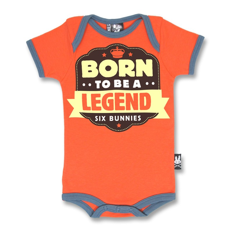 Body Bébé Born to be a Legend