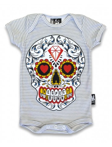 Body Bébé Sugar Skull