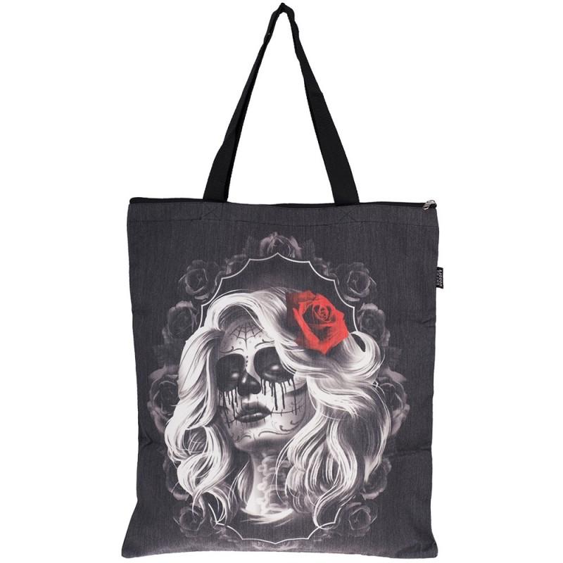 Tote Bag Rose Tattoo