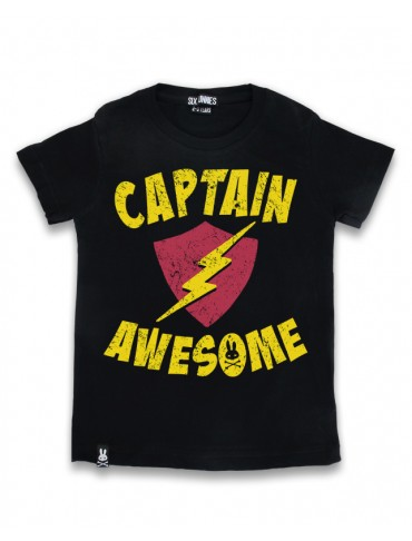 CAPTAIN AWESOME T SHIRT ENFANT