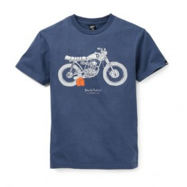 T-shirt Deus: The Shank Navy