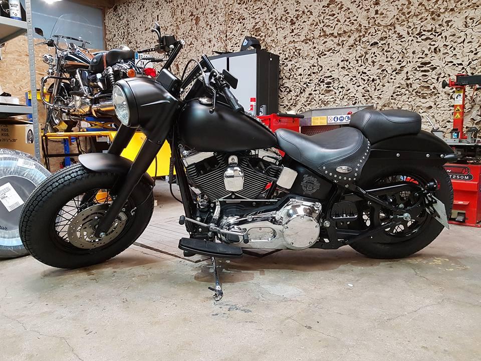 Zombie Bikes Concept: Prépa Harley Davidson sur base 1340 Softail Heritage